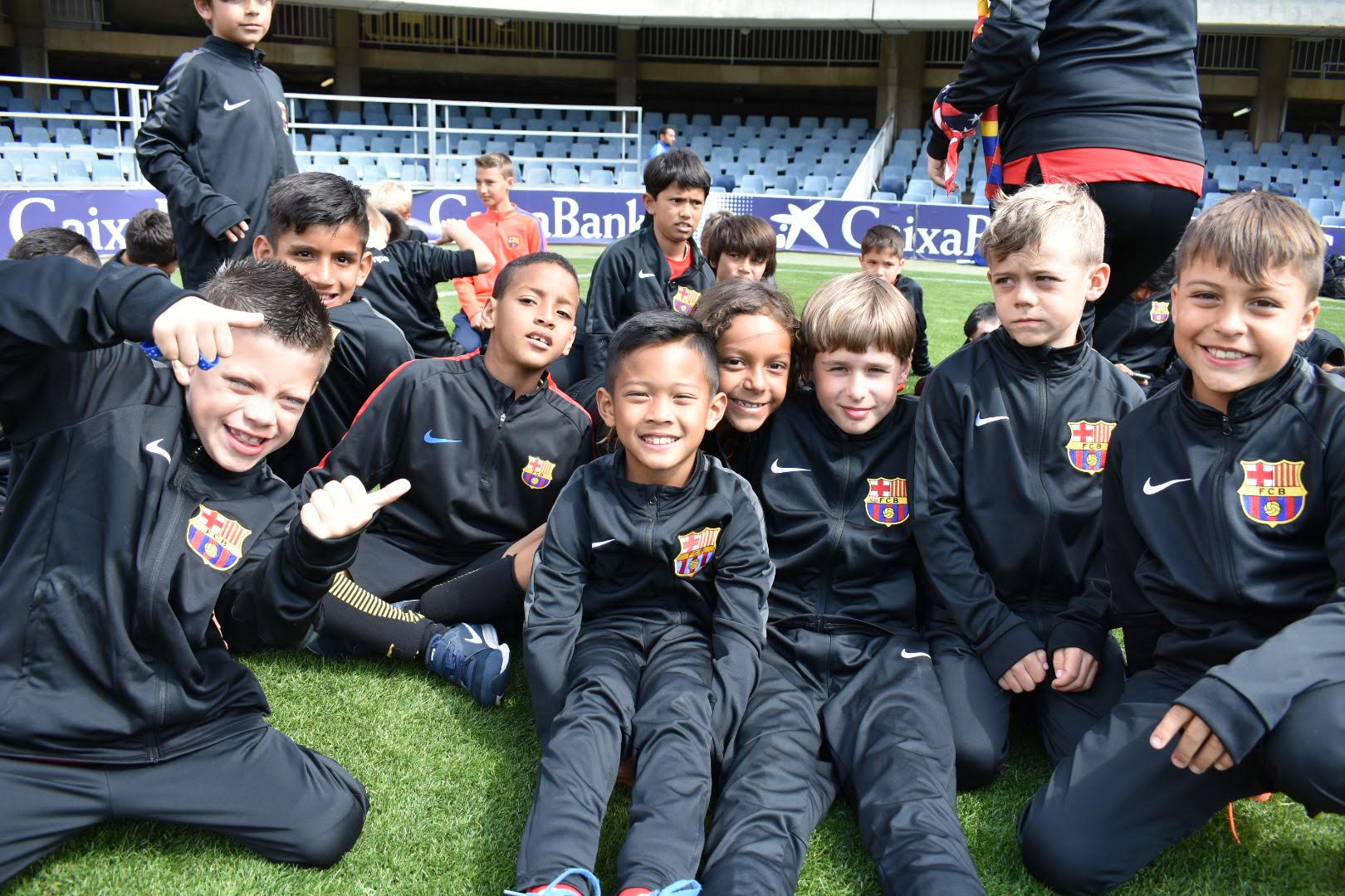 Some of our Players at Camp Nou