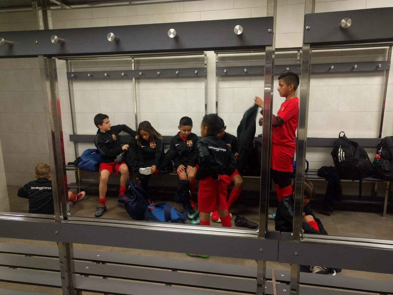 The Same Locker Rooms that Mesi and Suarez Got Ready In