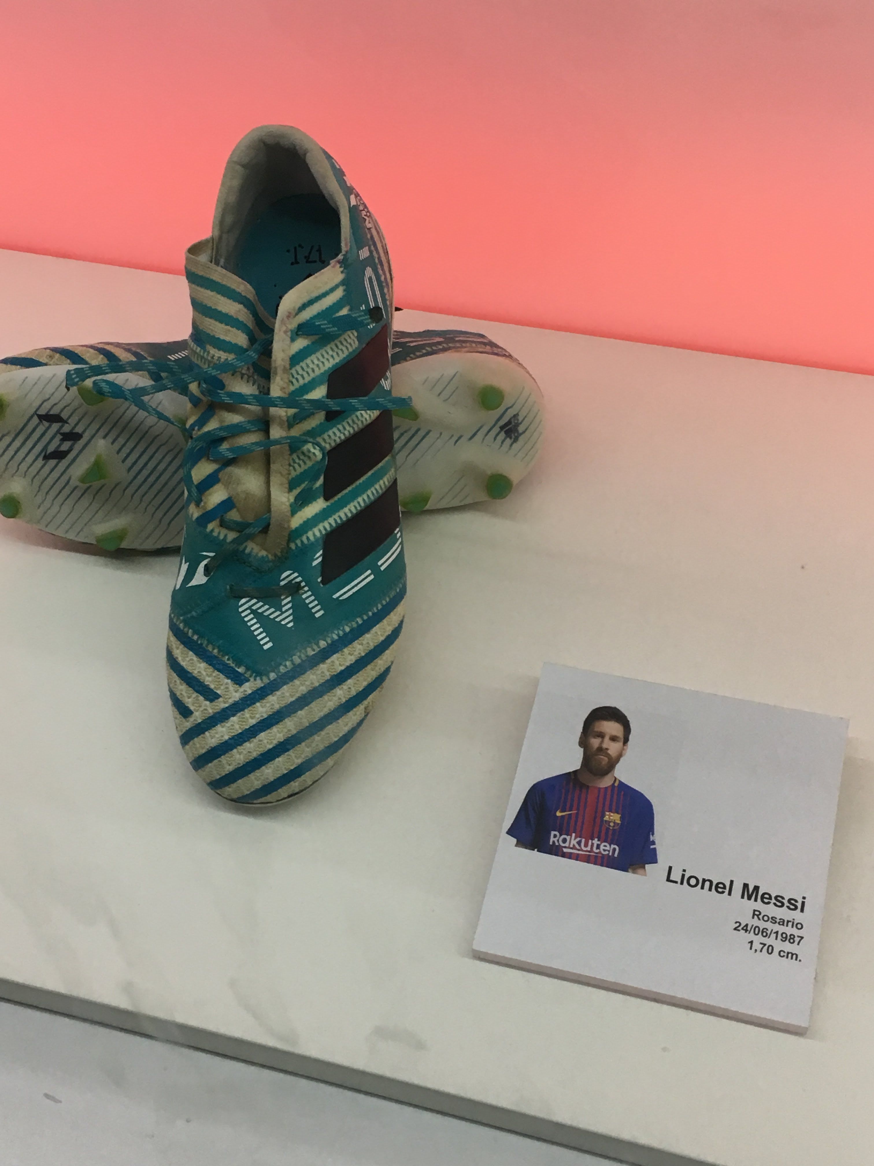 Messi's Cleats
