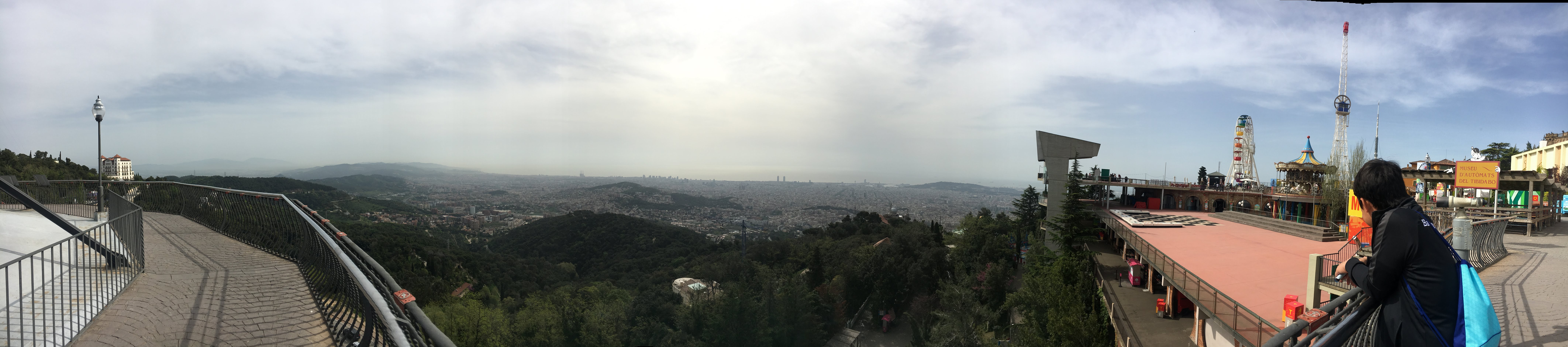 The View from Tibidabo