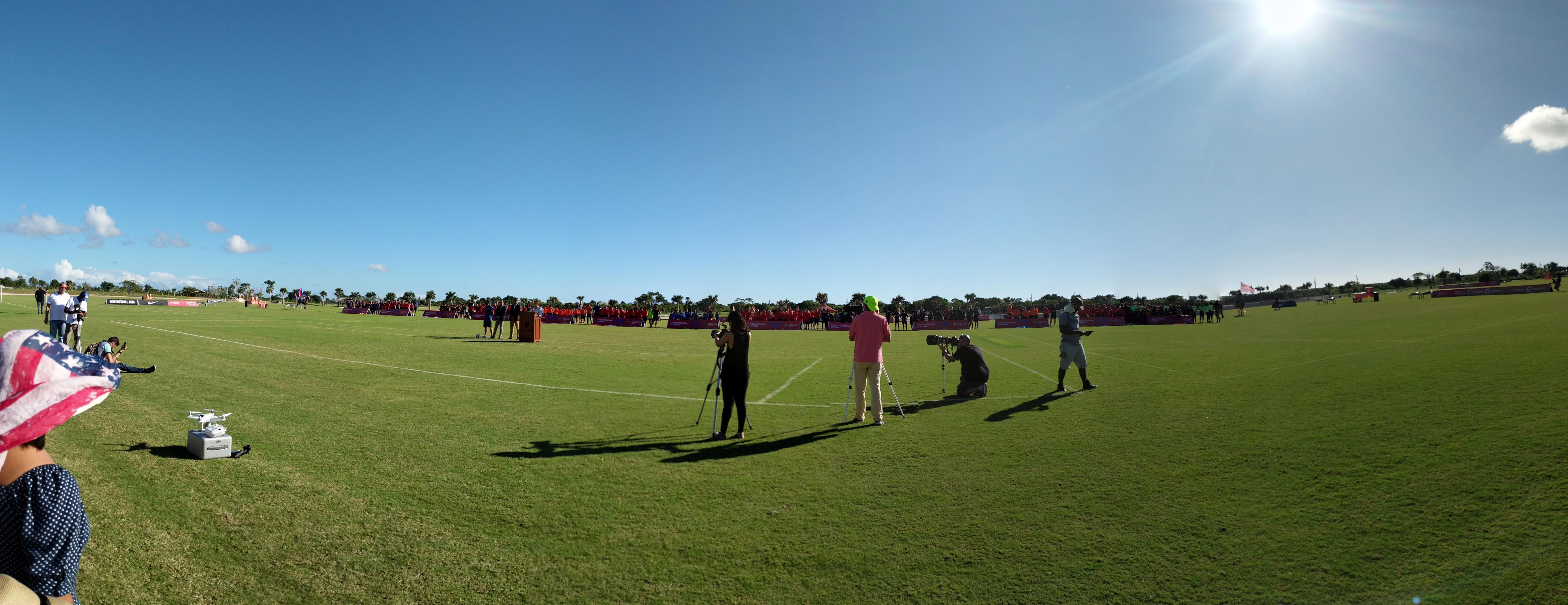 Beautiful View of the Tournament Field